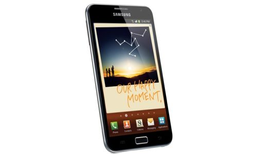 Samsung Galaxy Note: mitad celular, mitad tablet