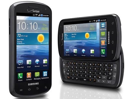 Todo sobre el smartphone Samsung Stratosphere