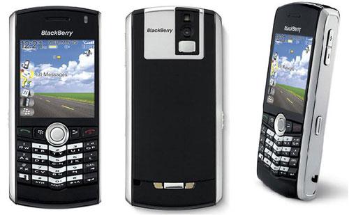 BlackBerry Pearl 8100, uno de los smartphones más pequeños