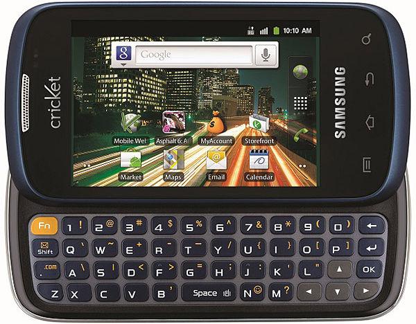 Características del Samsung Transfix R730