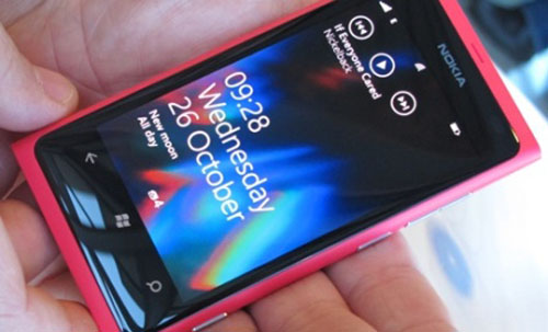 Nuevo Nokia Lumia 800 Rosa