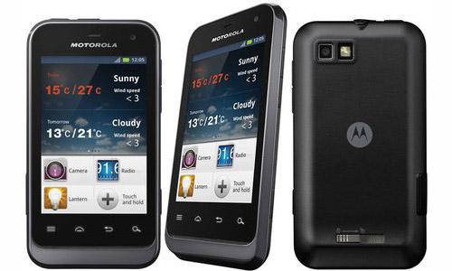 Un nuevo smartphone todoterreno: Motorola Defy Mini