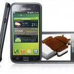 2 modelos de Samsung se actualizan a Android 4.0