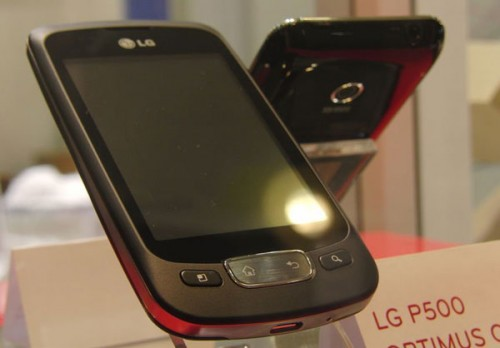 LG Optimus One P500, un smartphone de gama media