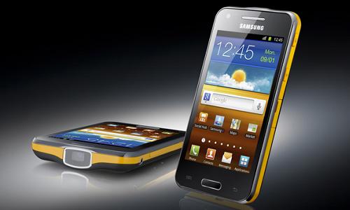 El Samsung Galaxy Beam, un smartphone con proyector