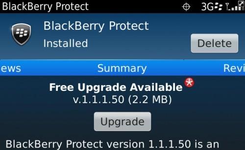 Blackberry te ofrece proteger tu información