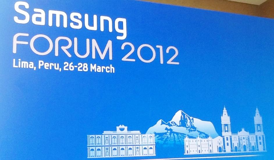 Samsung Forum 2012 en Perú