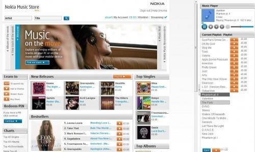 La música suena mejor con Nokia Music