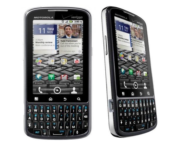 Un Smartphone estándar de Motorola